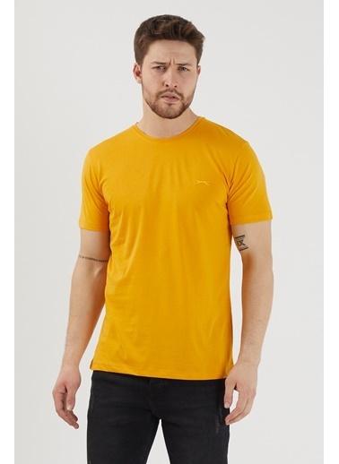 Slazenger Slazenger SANDER Erkek T-Shirt Hardal Hardal